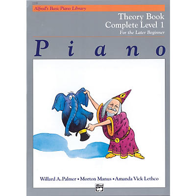 Alfred Alfred's Basic Piano Course Theory Book Complete 1 (1A/1B)
