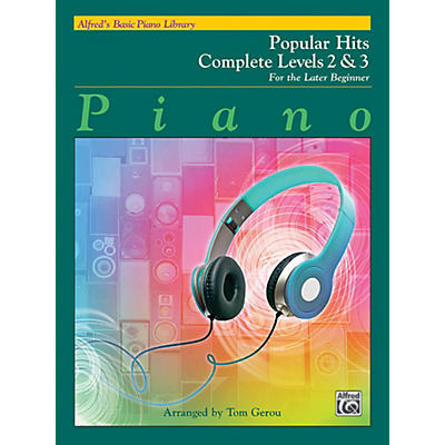 Alfred Alfred's Basic Piano Library - Popular Hits Complete Levels 2 & 3