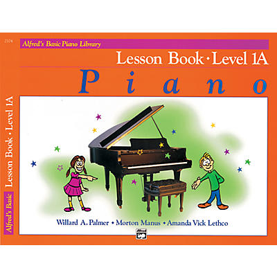 Alfred Alfred's Basic Piano Library Lesson Book Level 1A