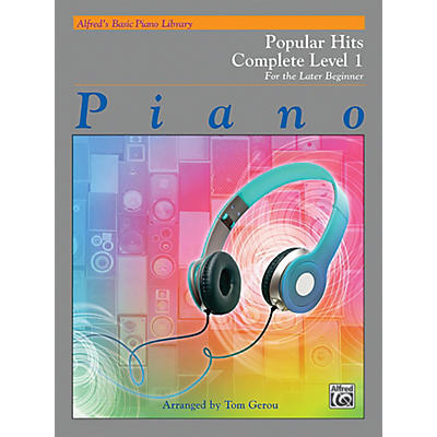 Alfred Alfred's Basic Piano Library: Popular Hits Complete Level 1 (1A/1B)