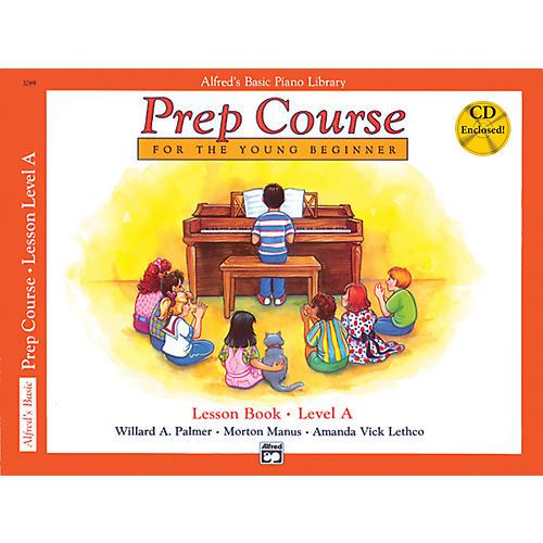 Alfred Alfred's Basic Piano Prep Course Lesson Book A Book A & CD