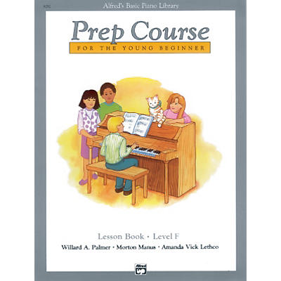 Alfred Alfred's Basic Piano Prep Course Lesson Book F