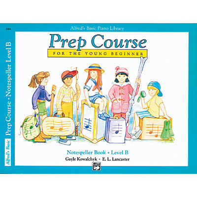 Alfred Alfred's Basic Piano Prep Course Notespeller Book B