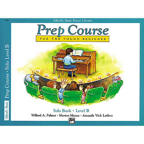 Alfred Alfred's Basic Piano Prep Course Solo Book B
