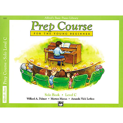 Alfred Alfred's Basic Piano Prep Course Solo Book C