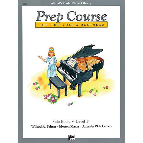Alfred Alfred's Basic Piano Prep Course Solo Book F