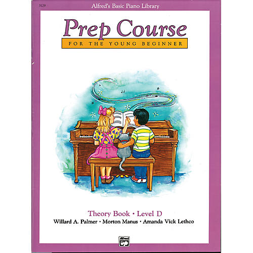 Alfred Alfred's Basic Piano Prep Course Theory Book D