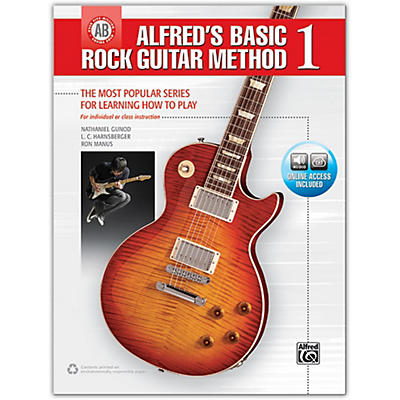 Alfred Alfred's Basic Rock Guitar Method 1 - Book & Online Audio