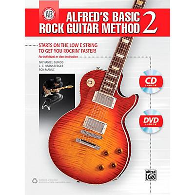 Alfred Alfred's Basic Rock Guitar Method 2 Book, CD & DVD