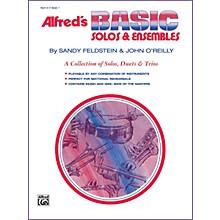 Alfred Alfred's Basic Solos and Ensembles Book 1 Cornet Baritone T.C.