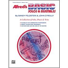 Alfred Alfred's Basic Solos and Ensembles Book 1 Trombone Baritone B.C. Bassoon