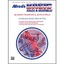 Alfred Alfred's Basic Solos and Ensembles Book 2 Trombone Baritone B.C. Bassoon