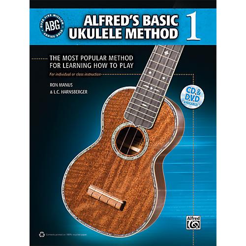 Alfred Alfred's Basic Ukulele Method Book/CD