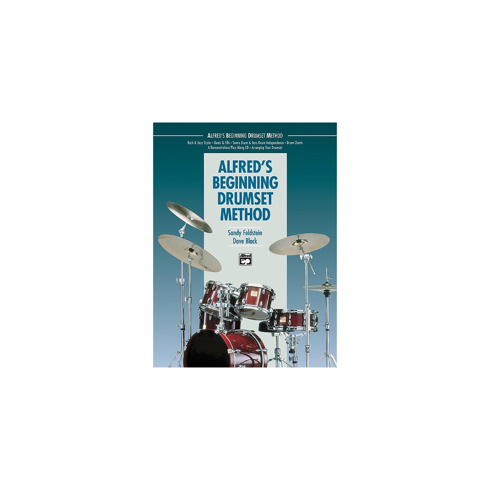Alfred Alfred's Beginning Drumset Method Book