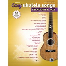 Alfred Alfred's Easy Ukulele Songs: Standards & Jazz Easy Hits Ukulele Songbook