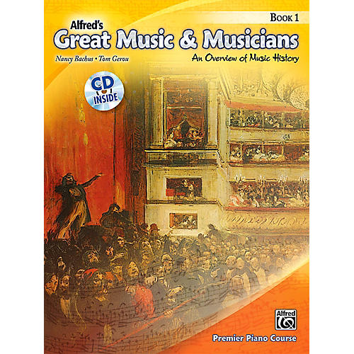 Alfred Alfred's Great Music & Musicians Book 1 & CD