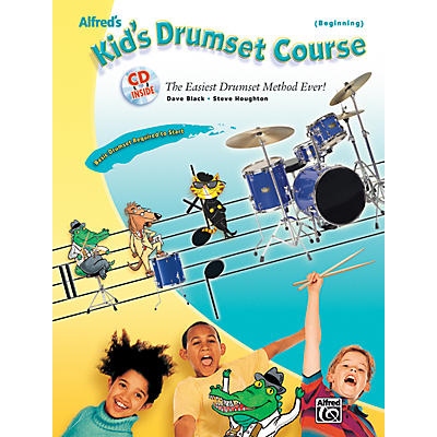 Alfred Alfred's Kid's Drumset Course Book & CD