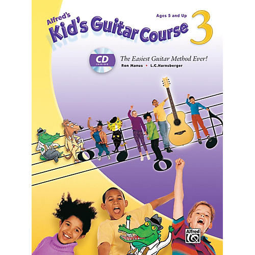 Alfred Alfred's Kid's Guitar Course 3 Book & Enhanced CD