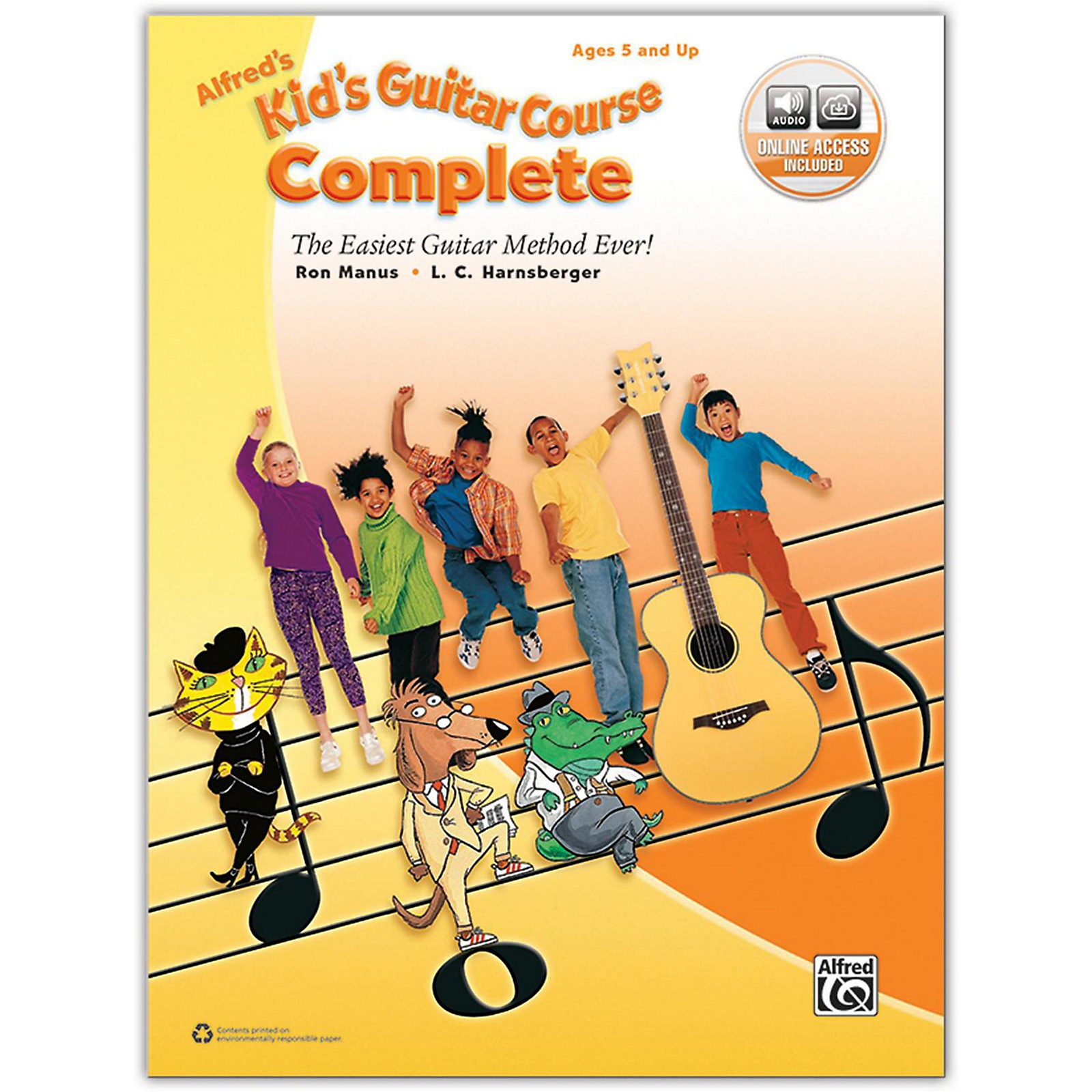 Alfred Alfred's Kid's Guitar Course Complete Book & Online Audio