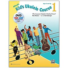 Alfred Alfred's Kid's Ukulele Course 1 - Book, DVD & Online Audio & Video