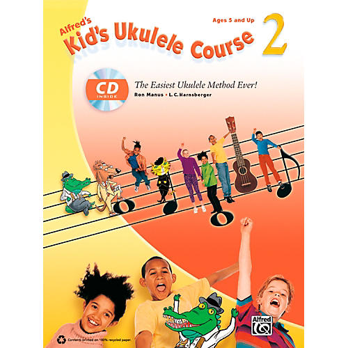 Alfred Alfred's Kid's Ukulele Course 2 Book & CD