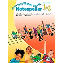 Alfred Alfred's Kid's Ukulele Course Notespeller 1 & 2 Book