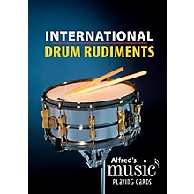 Alfred Alfred's Music Playing Cards: International Drum Rudiments - Card Deck (1 Pack)