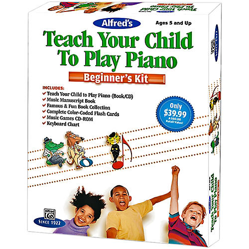 Alfred Alfred's Teach Your Child To Play Piano Beginner's Kit