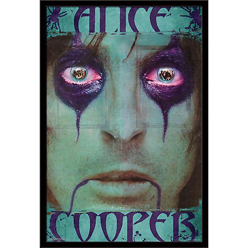 Trends International Alice Cooper - The Inside Poster Framed Black