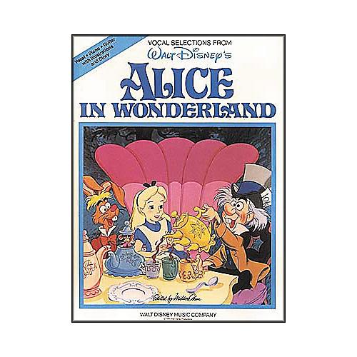 Hal Leonard Alice in Wonderland Piano, Vocal, Guitar Songbook