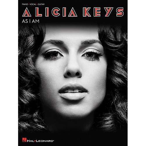 Hal Leonard Alicia Keys As I Am arranged for piano, vocal, and guitar (P/V/G)