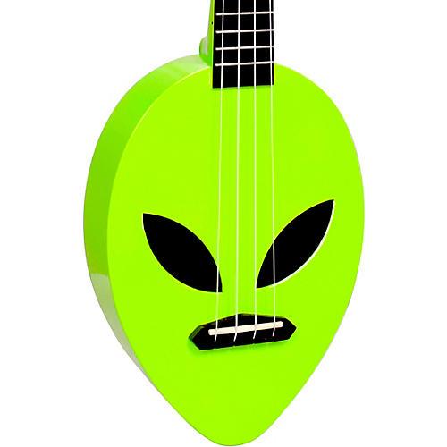 Mahalo Alien Soprano Ukulele Neon Green