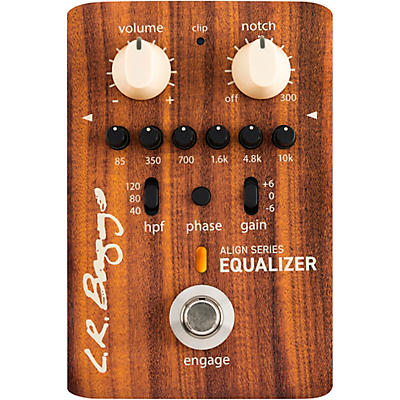 LR Baggs Align Acoustic Preamp/Equalizer Effects Pedal