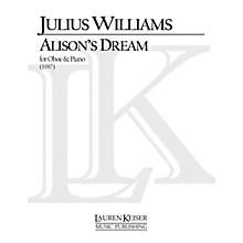Lauren Keiser Music Publishing Alison's Dream (Oboe with Piano Accompaniment) LKM Music Series by Julius Williams