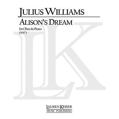 Lauren Keiser Music Publishing Alison's Dream (Oboe with Piano Accompaniment) LKM Music Series by Julius Williams