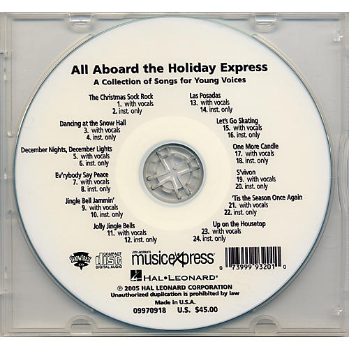 Hal Leonard All Aboard the Holiday Express