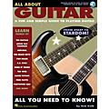 Hal Leonard All About Guitar Guitar Book Series Softcover with CD Written by Tom Kolb thumbnail