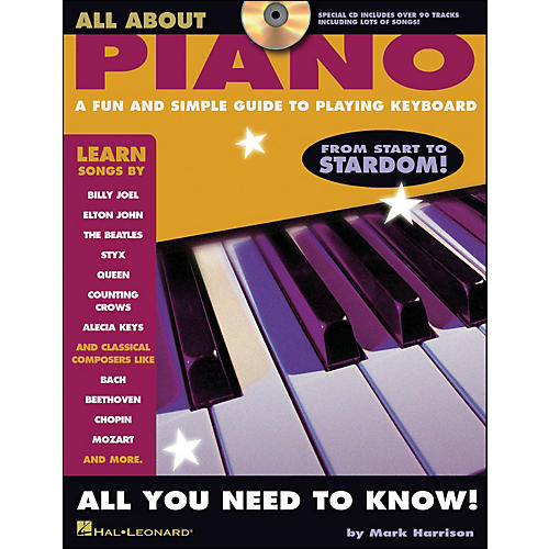 Hal Leonard All About Piano Book/CD Series