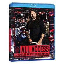 Hudson Music All Access to Aquiles Priester's Drumming Featuring Songs of Hangar, Edu Falaschi, Noturnall Blu-Ray