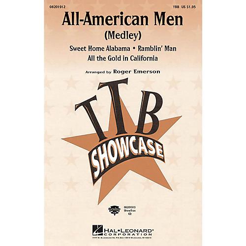Hal Leonard All-American Men (Medley) TBB arranged by Roger Emerson