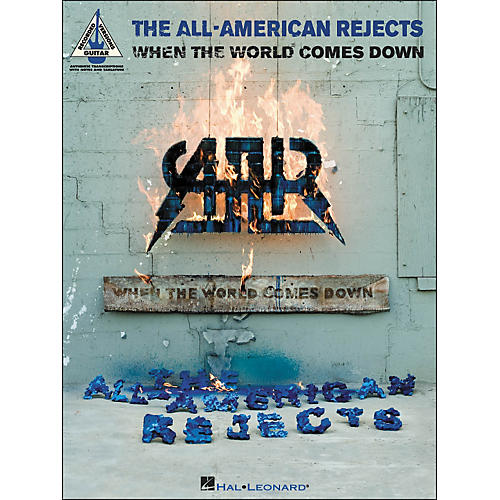 Hal Leonard All American Rejects - When The World Comes Down Tab Book