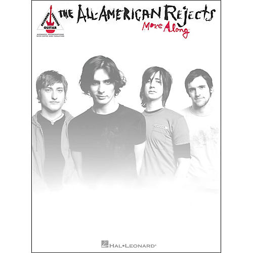 Hal Leonard All American Rejects Move Along Guitar Tab Songbook