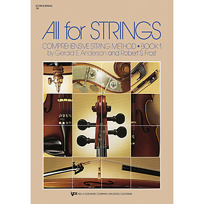 KJOS All For Strings Book 1