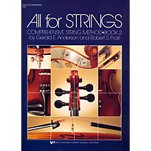 KJOS All For Strings Book 2-PIANO