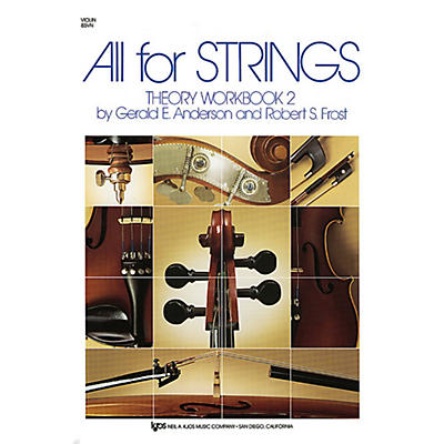 KJOS All For Strings Theory Workbook 2