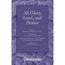 Shawnee Press All Glory Laud and Honor SATB Arranged by Vicki Tucker Courtney