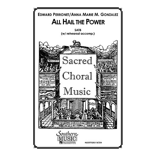 Hal Leonard All Hail the Power (Choral Music/Octavo Sacred Satb) SATB Composed by Gonzalez, Anna Marie