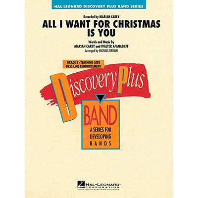 Hal Leonard All I Want For Christmas Is You Concert Band Level 2