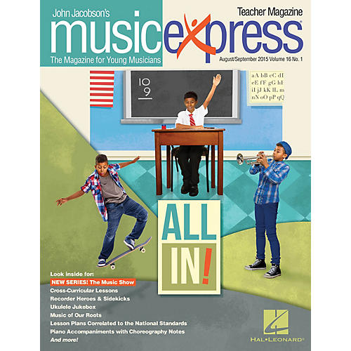 Hal Leonard All In!, Vol. 16 No. 1 PREMIUM COMPLETE PAK Arranged by Emily Crocker