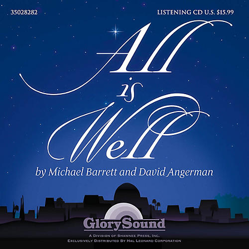 Shawnee Press All Is Well Listening CD composed by David Angerman